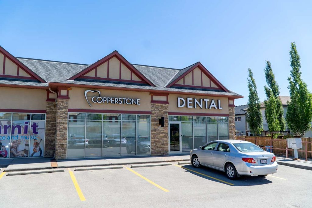 Exterior Copperstone Dental SE Calgary
